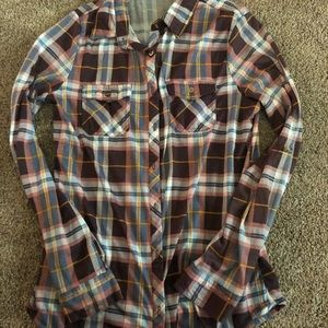Women's flannel top